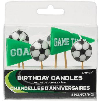 6 bougies pics foot goal