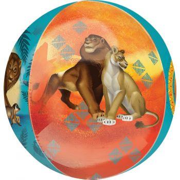 Ballon Orbz helium Le Roi lion