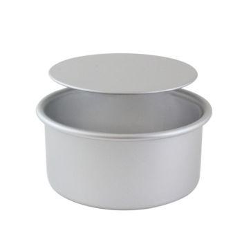 Moule à gâteau rond fond amovible Ø10 cm H7.5cm