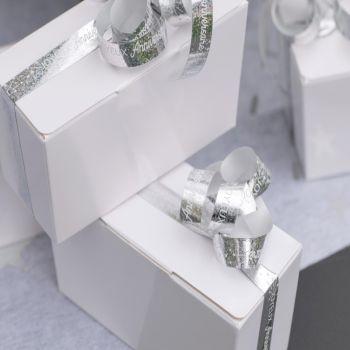 Bolduc Joyeux Anniversaire argent