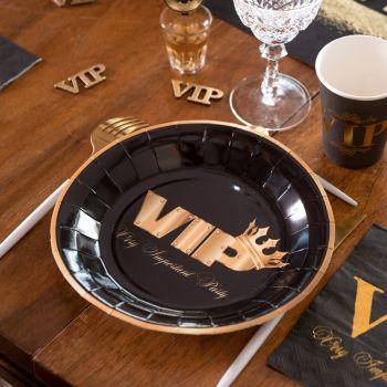 Assiettes soirée VIP