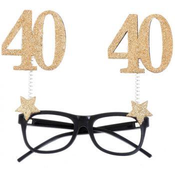 Lunette pailleté 40 ans