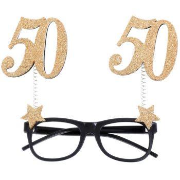 Lunette pailleté 50 ans