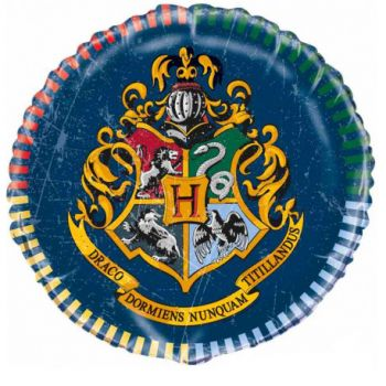 Ballon hélium rond Harry potter