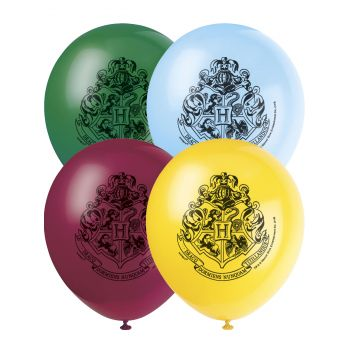 8 Ballons anniversaire Harry potter
