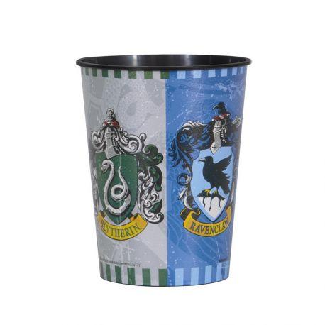 Gobelet en plastique réutilisable Harry Potter pour la décoration anniversaire de votre enfant sur le thème Harry Potter.Peut...