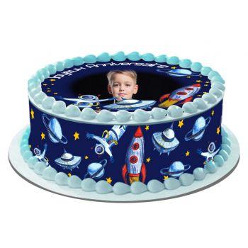 Kit Easycake pour gâteau personnalisé Espace