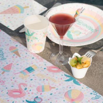 Chemin de table Summer Smoothie