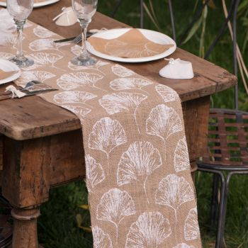Chemin de table Feuillage naturel