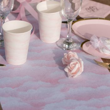 Chemin de table BB Rose