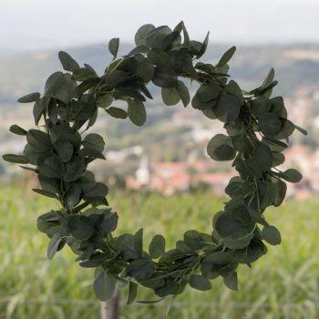 Décor Couronne Eucalyptus