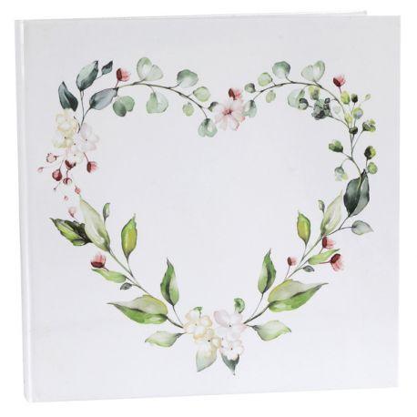 Livre d'or décor nature pour garder les messages de vos amis et familles lors de vos soirées anniversaires, mariage, baptême........