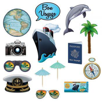 14 Accessoires photobooth Bon voyage