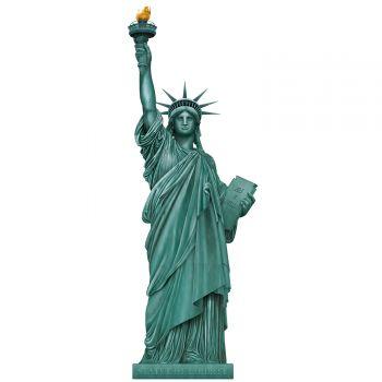 Statue de la liberté en carton 150cm