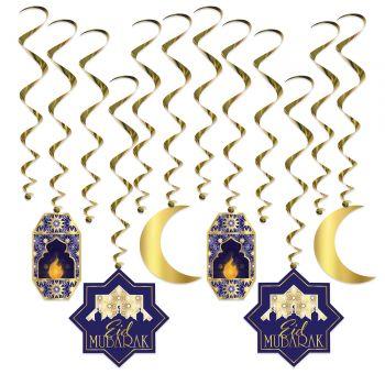 8 Guirlandes tourbillons Ramadan