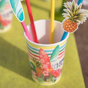 10 Gobelets Hawaï Aloha