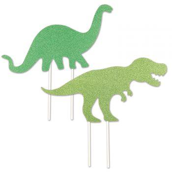 Cake topper Dinosaure pailleté