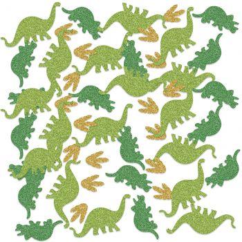Confettis pailletés Dinosaure