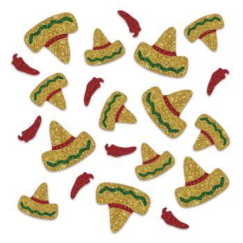 Confettis pailletés Sombrero