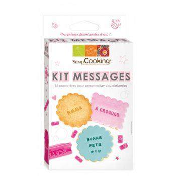 Kit message Scrapcooking