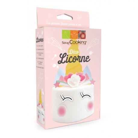 Ce kit contient 12 décos azyme pour réaliser un gâteau Licorne.Vous trouverez 2 planches avec plusieurs décos azymes sur un...