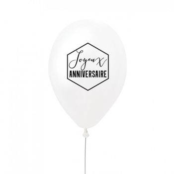 5 Ballons Joyeux anniversaire