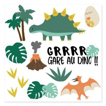 Tatouage Dinosaure