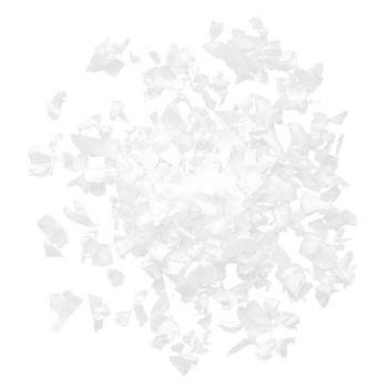 Confettis en papier blanc 100gr
