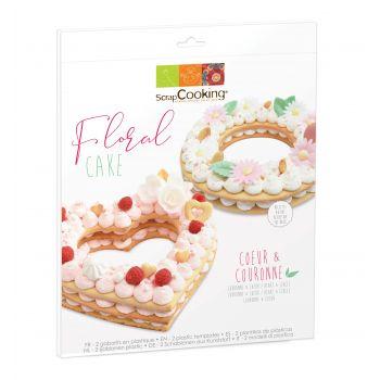 Floral cake Scrapcooking
