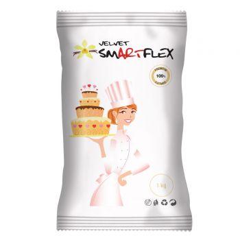 Pâte à sucre Smartflex velour blanche 1KG