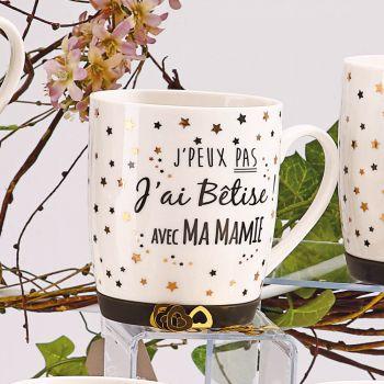 Mug J'ai bêtise Mamie étoilé