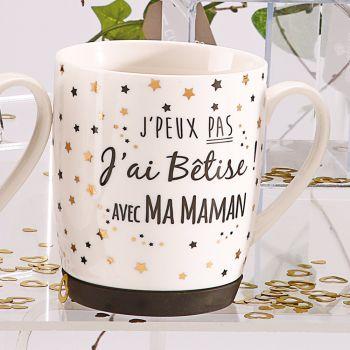 Mug J'ai bêtise Maman étoilé