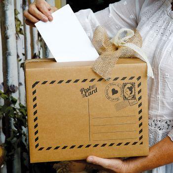 Urne à enveloppe Carte postale