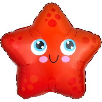 Ballon helium Etoile de mer junior