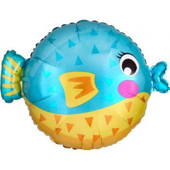 Ballon helium poisson boule junior