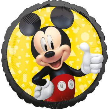 Ballon hélium rond Mickey forever