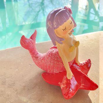 Tirelire Sirène rose