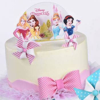 Kit déco gâteau Pop up Princesses Disney