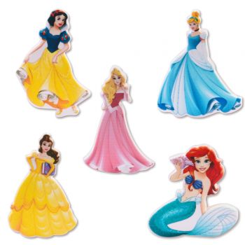 Kit 5 figurines Princesses Disney