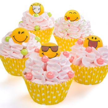 6 Smile gélifiées en sucre