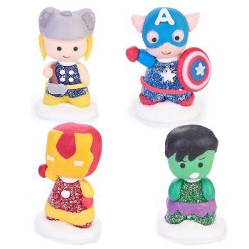 4 Avengers gélifiées en sucre