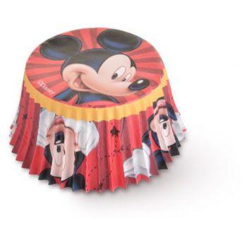50 Caissette cupcakes Mickey original Ø7cm