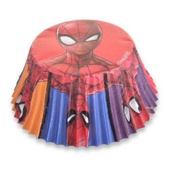50 Caissette cupcakes Spiderman Ø7cm