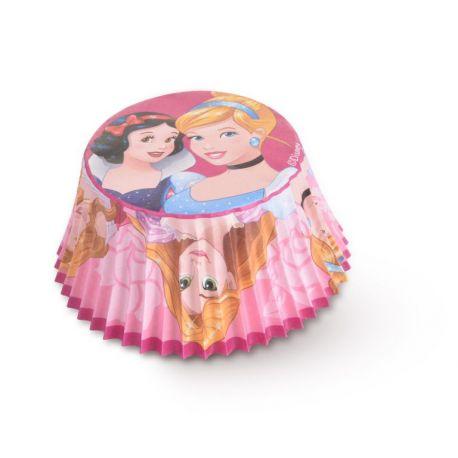 Paquet de 50 caissettes à l'effigie de Princesses Disney pour réaliser des muffins ou cupcakeA utiliser avec moule à muffins...