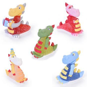 3 Dinosaures rigolo gélifiées en sucre