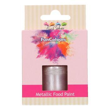 Peinture métallisée alimentaire lilas Funcolours