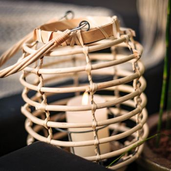 Lanterne en bambou 26cm