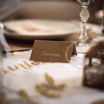 20 Marques places communion kraft