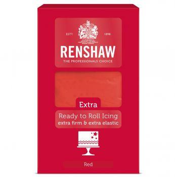 Pâte à sucre rouge 1Kg Renshaw