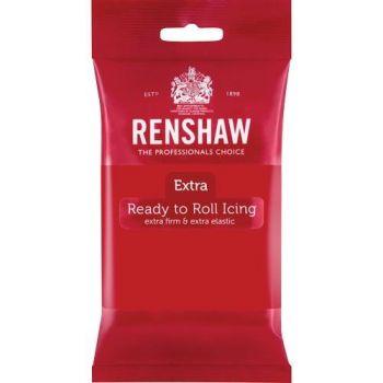 Pâte à sucre rouge 250gr Renshaw